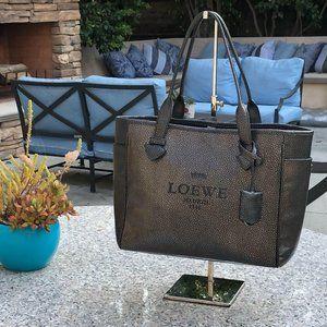 Loewe Madrid Heritage Tote Bag Calf Leather